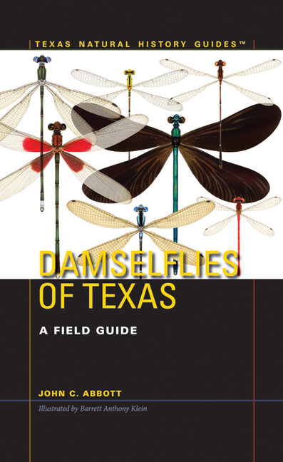 Book-Damselflies of Texas